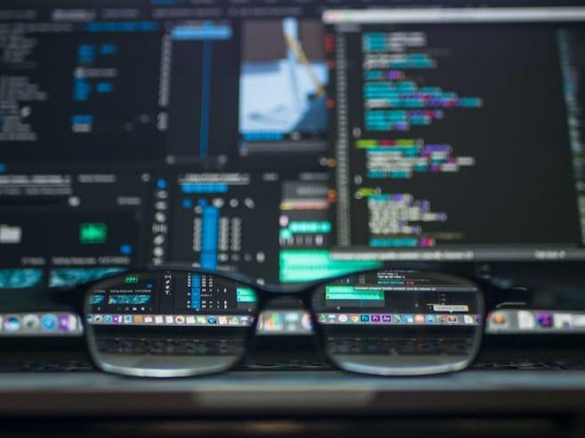 コンピューター メガネ