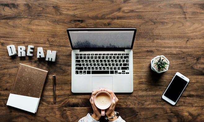 パソコン コーヒー dream