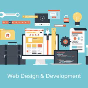 web design pc pen document