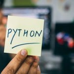 python 紙 手書き