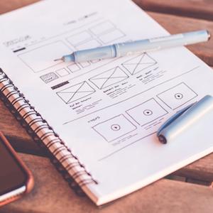 Webデザイン ワイヤーフレーム