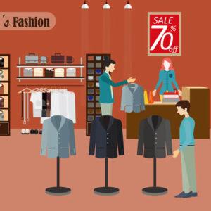 ショッピング スーツ
