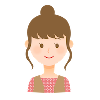 若い女性 顔アイコン