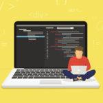 programmer パソコン コーディング
