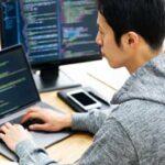 プログラミング パソコン 男性